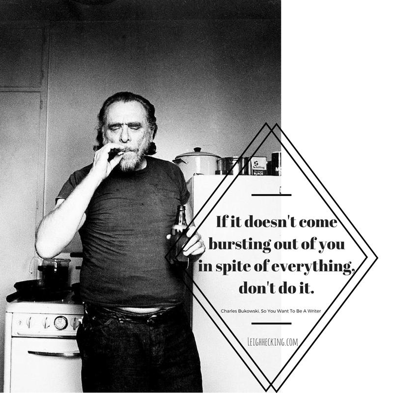 Charles Bukowski - Leighhecking.com-min