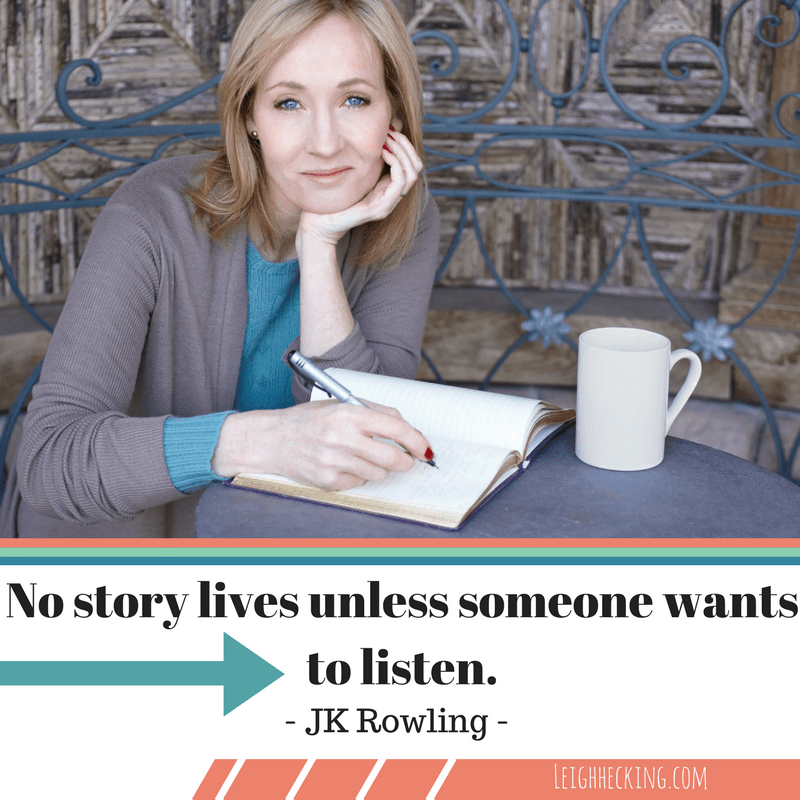 JK Rowling - Leighhecking.com-min