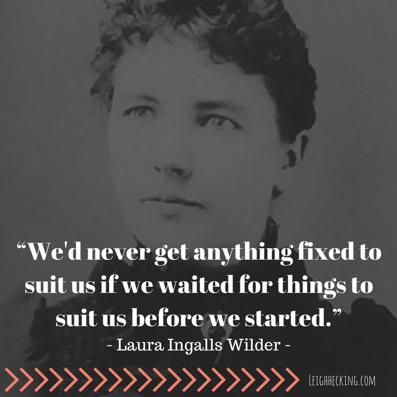 Laura Ingalls Wilder - Leighhecking.com