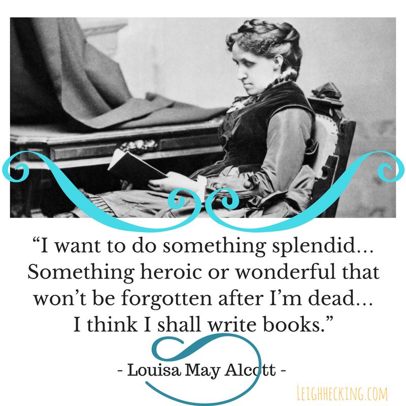 Louisa May Alcott - Leigh Hecking-min