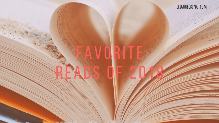 Favorite Reads of 2018