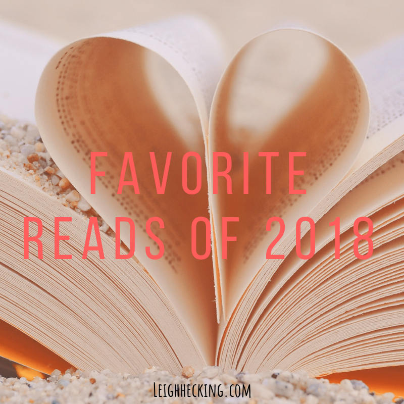 2018 favorite reads