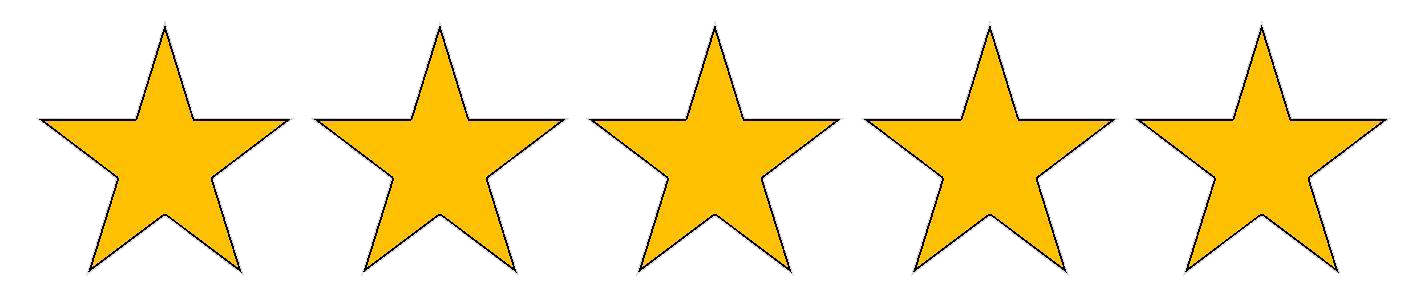 five-stars-graphic