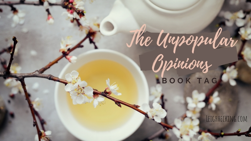 The Unpopular Opinions Book Tag.