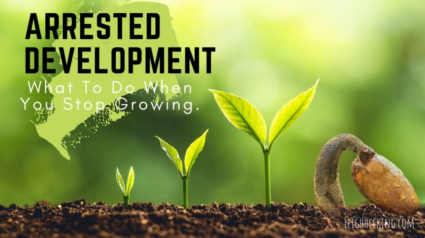 Arrested Development: What to Do When You Stop Growing.