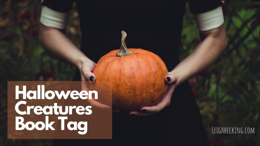 Halloween Creatures Book Tag