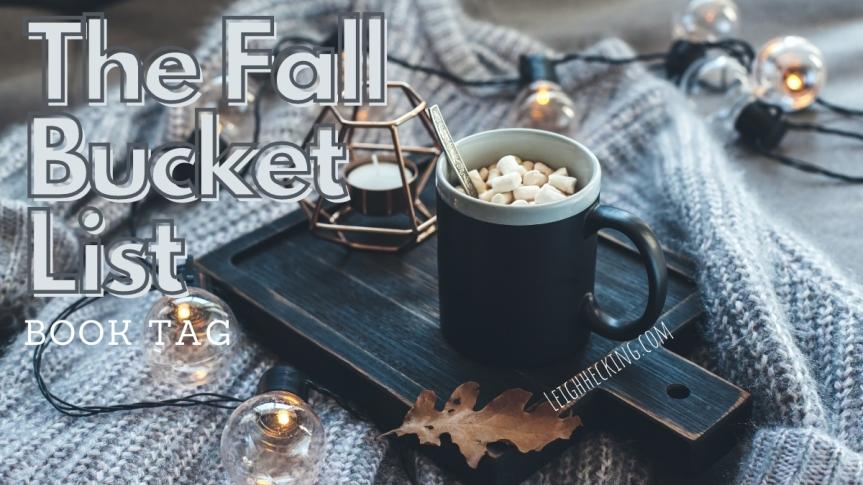 The Fall Bucket List BookTag